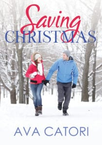 Saving Christmas book cover