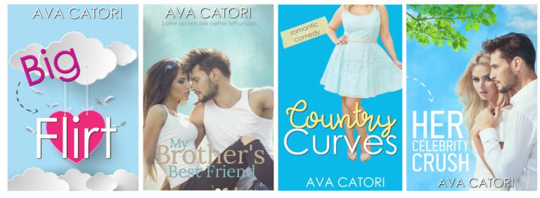 Ava Catori romance books